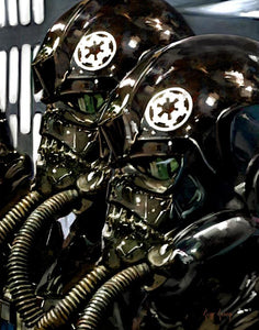 """Tie Fighter Pilots""  --- Giclee on Canvas"