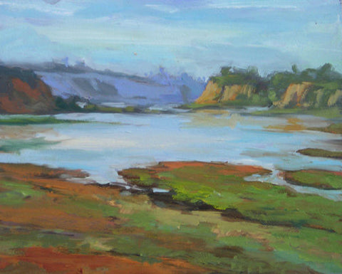 """Wet Lands""  ---  10"" x 8""  ---  Oil"
