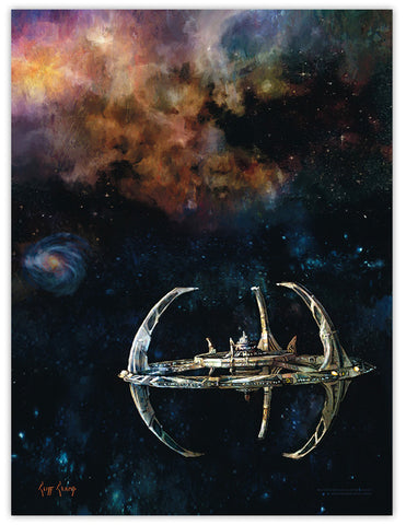 """Deep Space Nine""  ---  Lithograph"