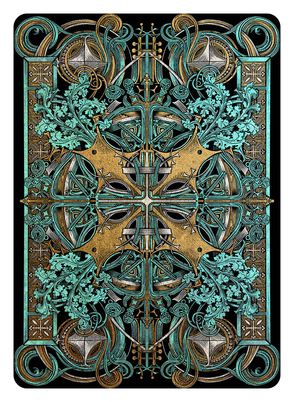 Louis Sullivan card back for The Guild