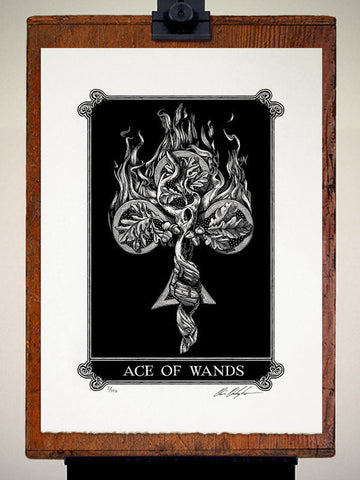 Print - Arcana Ace Of Wands