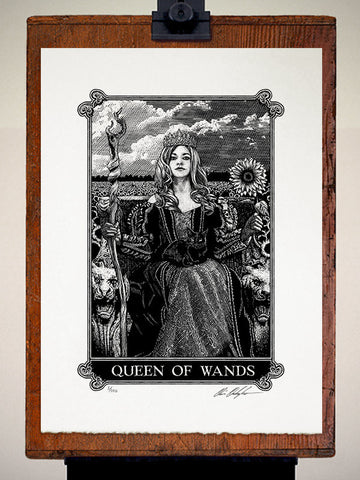 Print - Arcana Queen Of Wands