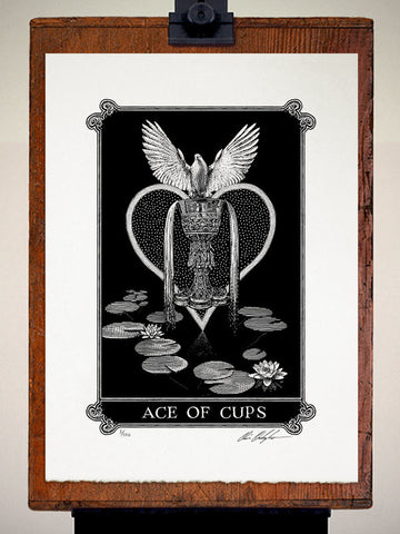 Print - Arcana Ace Of Cups