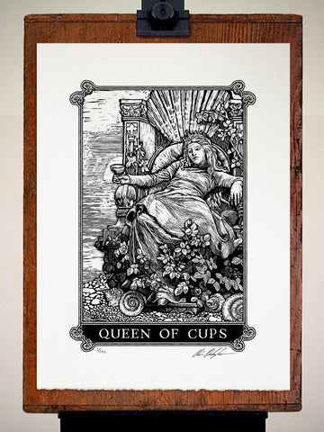Print - Arcana Queen Of Cups