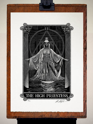 Print - Arcana The High Priestess