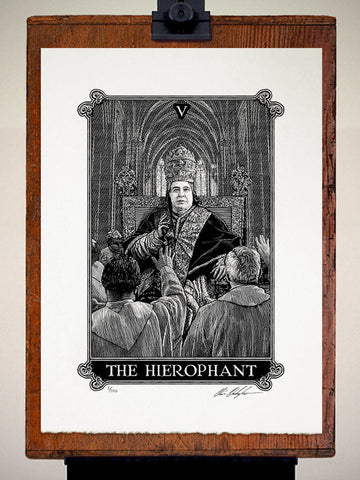 Print - Arcana The Hierophant