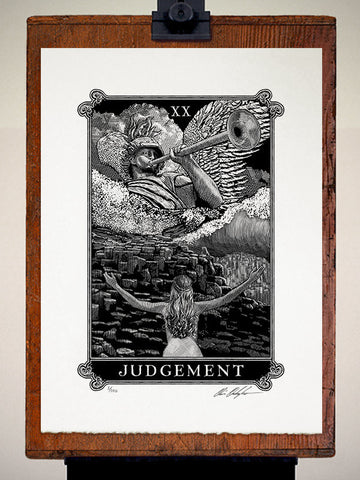 Print - Arcana Judgement