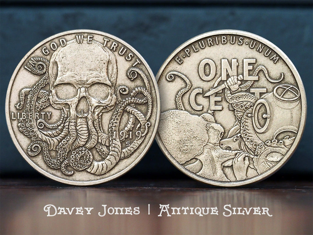 Hobo Coins Series II - The Davey Jones Locker
