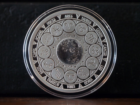 Ecliptic Solid Silver Coin