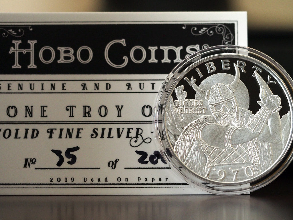 Solid Silver Hobo Coins Series III Coins