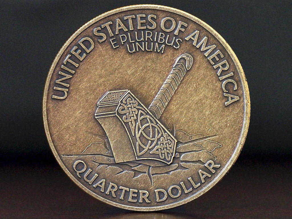 Hobo Coins Series III - Hammer of the Gods