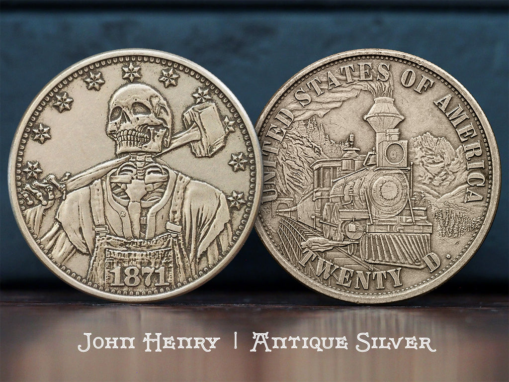 Hobo Coins Series II - The John Henry