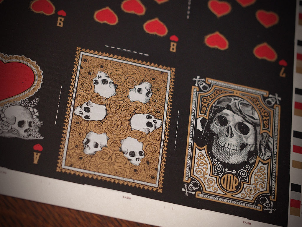 Midnight Calaveras Uncut Sheet