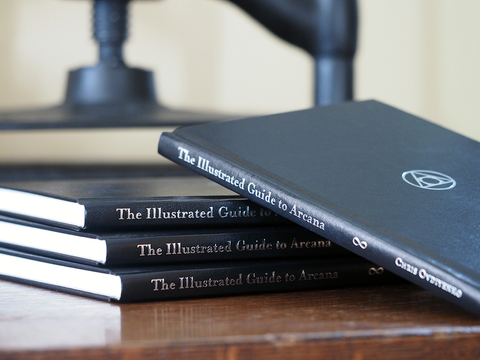 Hardbound Book-The Illustrated Guide to Arcana