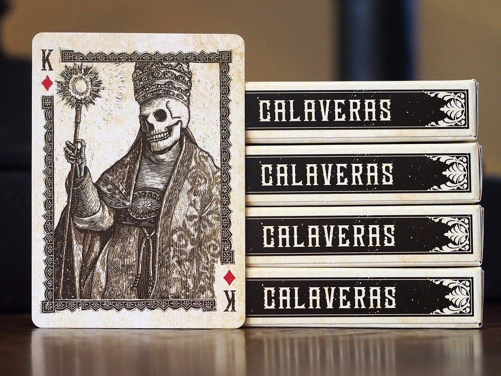 Calaveras Playing Cards