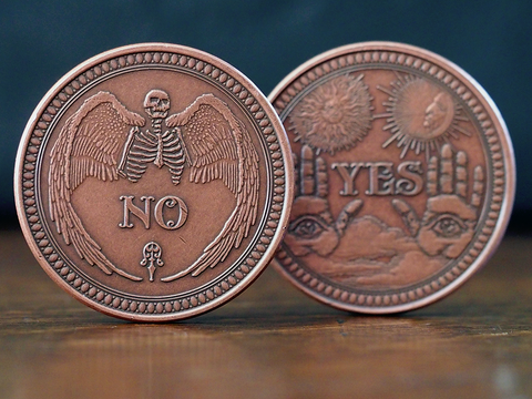 Coin-Solid Copper Oracle Coin