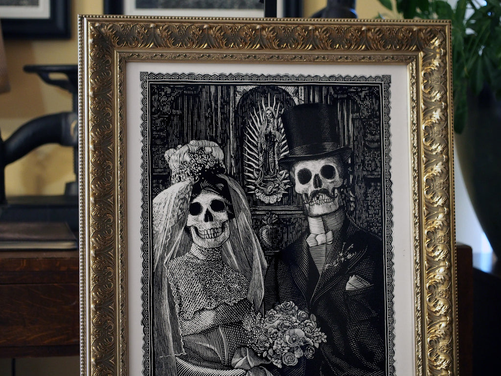 Calaveras Wedding Print