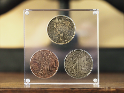 Acrylic Coin Display