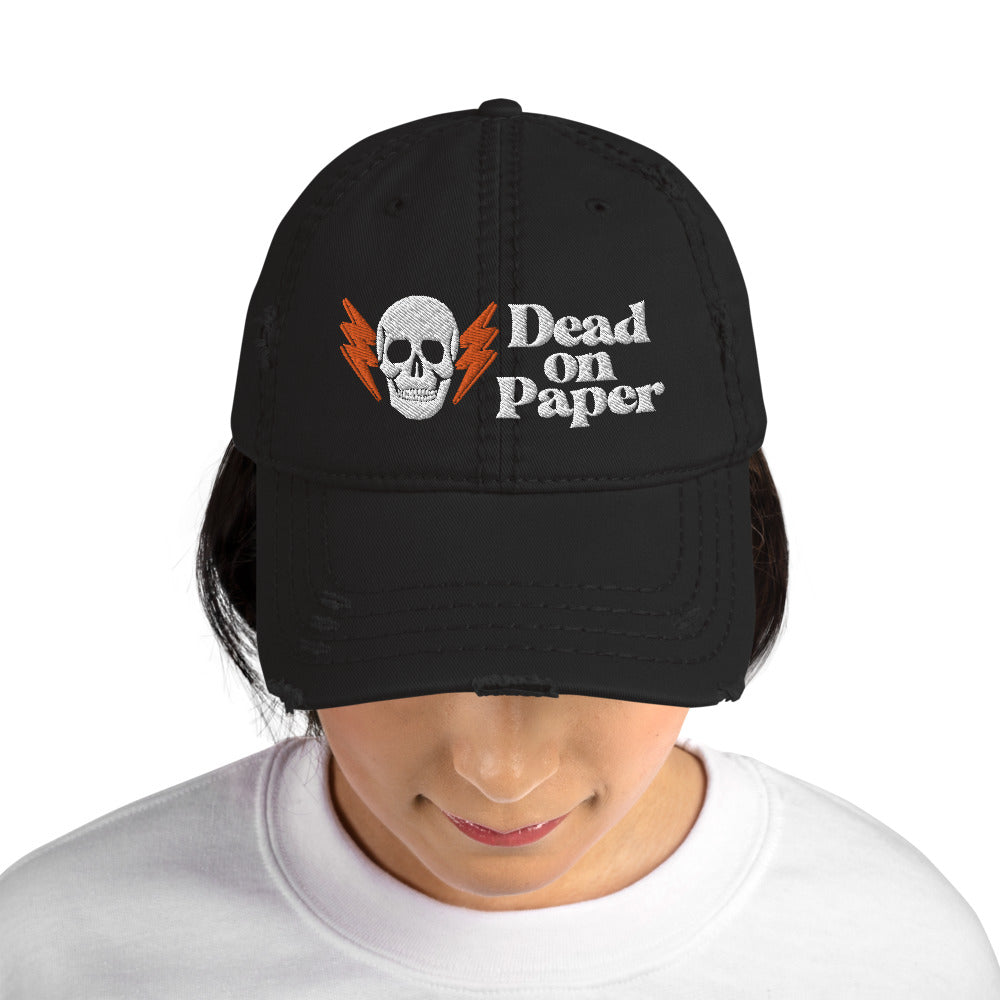 DOP Distressed Dad Hat