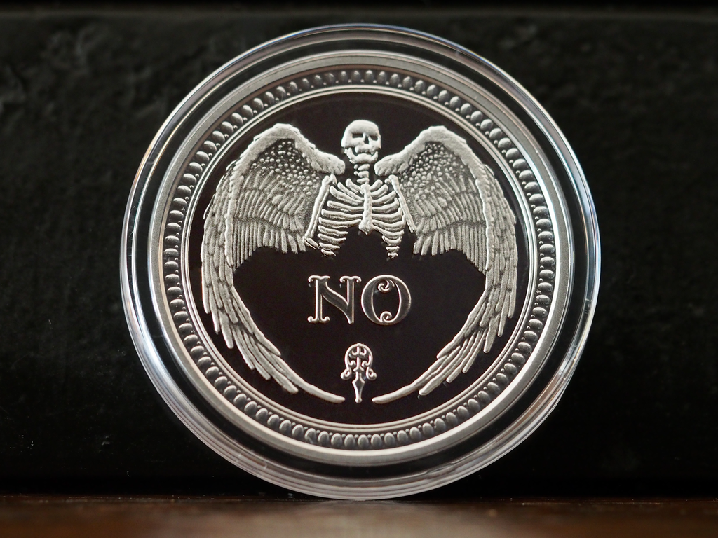 Solid Silver Oracle Coin