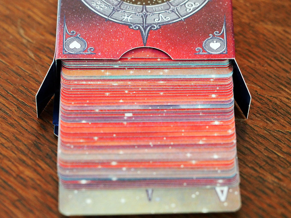 Ecliptic Zodiac Playing Cards