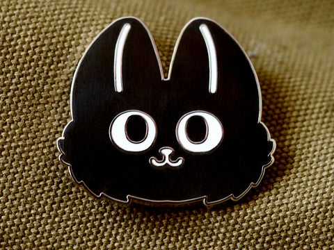 Fuzzy Overlord Pin