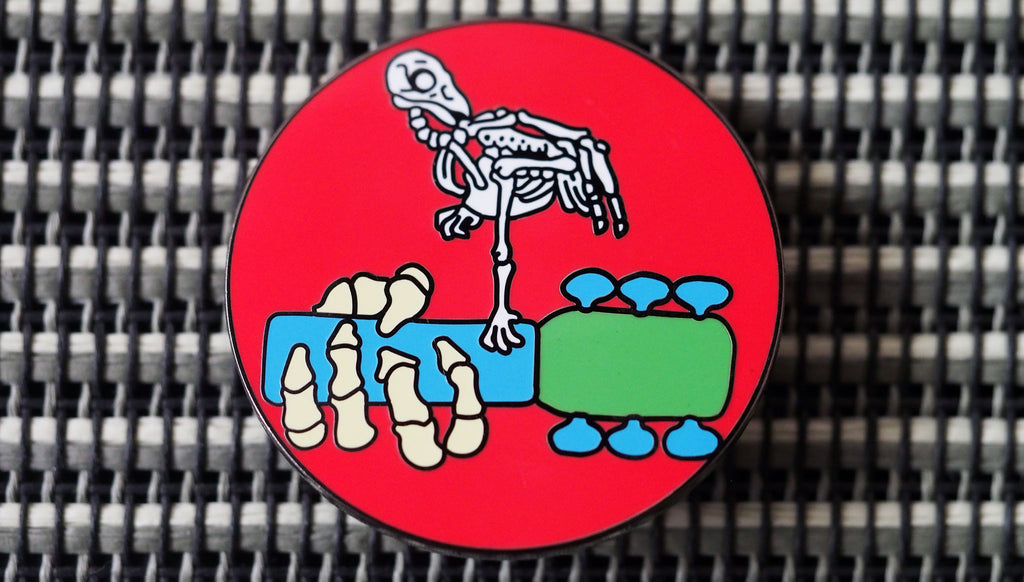 Woodstock Hard-Enameled Pin