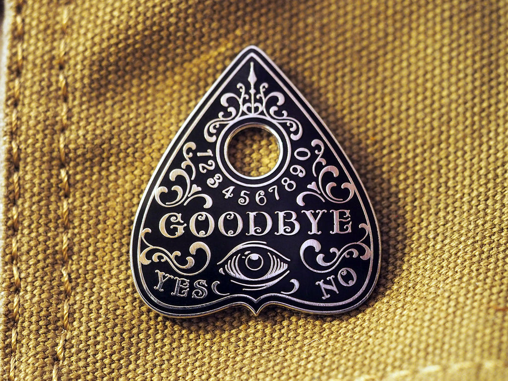 Oracle Planchette Hard-Enameled Pin
