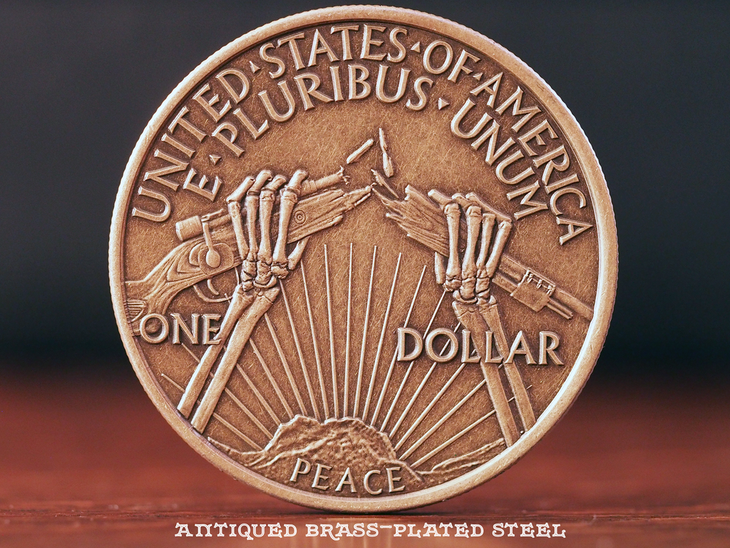 Hobo Coins Series I - The RIP Dollar