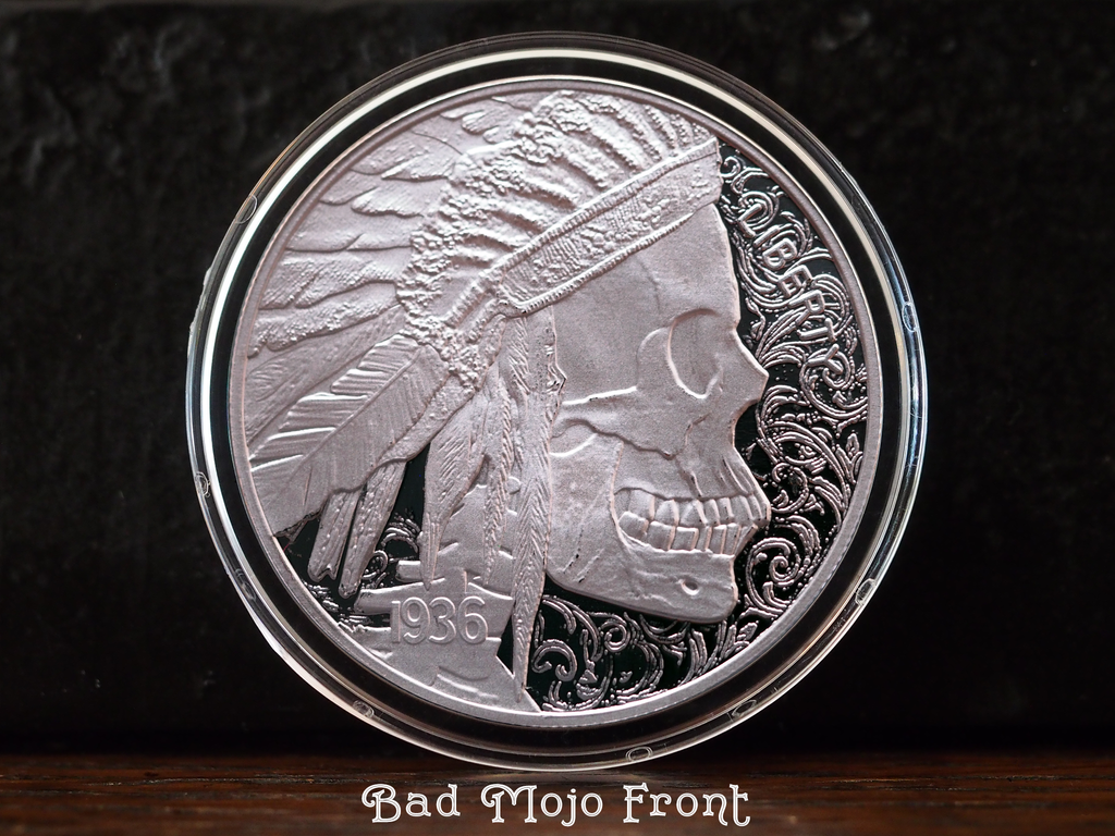Solid Silver Hobo Coins Series I Coins