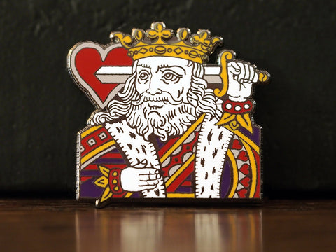 Suicide King Hard-Enameled Pin