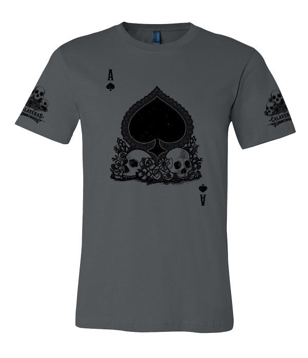 T-shirt-Calaveras Men's Ace of Spades T-shirt