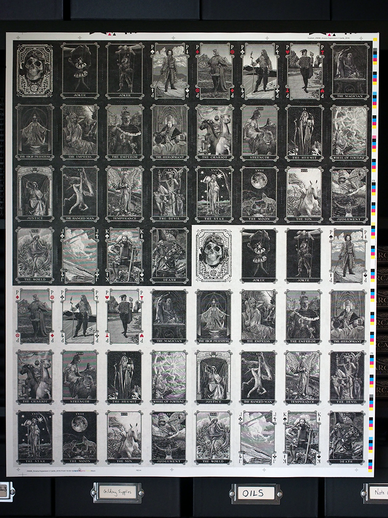 Arcana Full Collection Uncut Sheets (3)