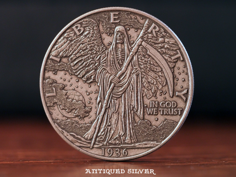 Hobo Coins Series I - The Walking Reaper