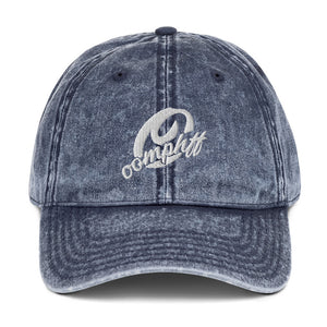 Vintage Cotton Twill Cap