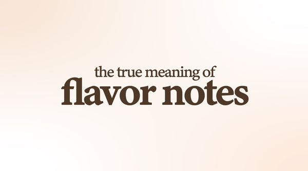 "What Does ""Flavor Note"" Really Mean?"