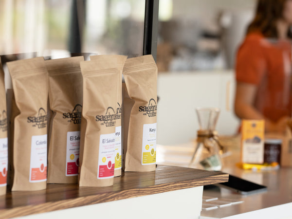 Bags of Coffee Available for Sale