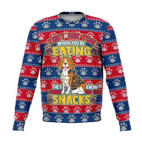 BEAGLE UGLY CHRISTMAS SWEATSHIRT