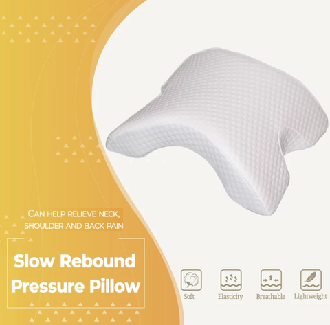 Image of FLEXOMINT U-SHAPED PRESSURE PILLOW (HAND & NECK PROTECTION)