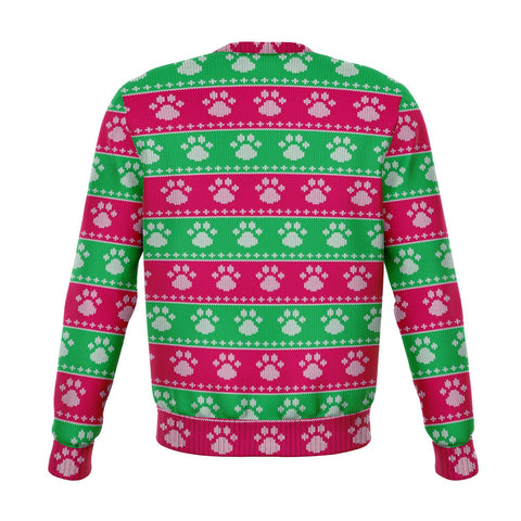 Image of SCHNAUZER UGLY CHRISTMAS SWEATSHIRT