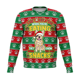 FRENCH BULLDOG UGLY CHRISTMAS SWEATSHIRT