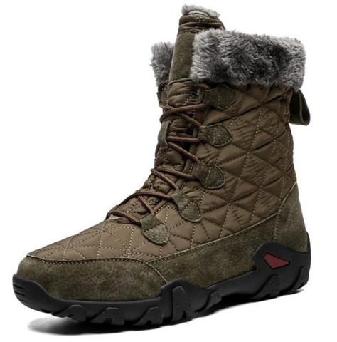 MEN'S WINTER FUR SNOW BOOTS