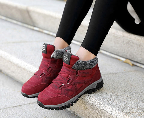Image of WINTER WOMAN FUR WEATHERPROOF BOOTS