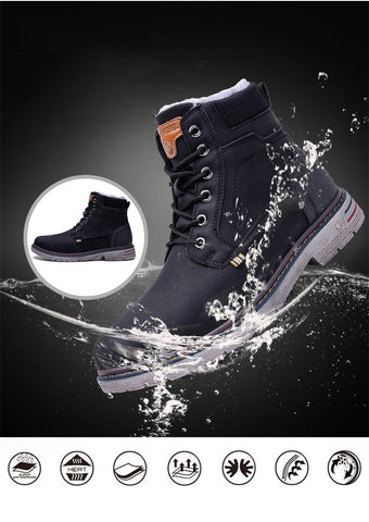 WINTER SHOES MEN MILITARY BOOTS (NON SLIP)