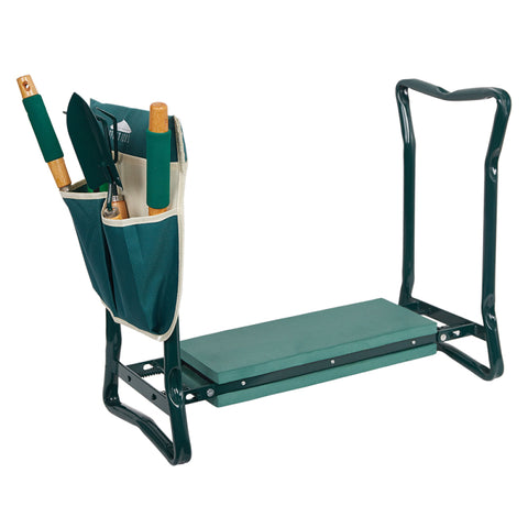 Image of FLEXOMINT GARDEN KNEELER & SEAT WITH POCKET (SHIP FROM USA)