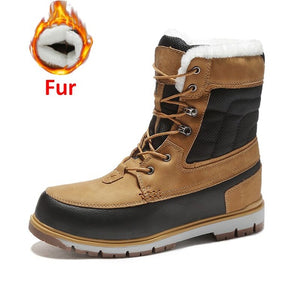 FLEXOMINT WATERPROOF WINTER FUR SNOW BOOTS