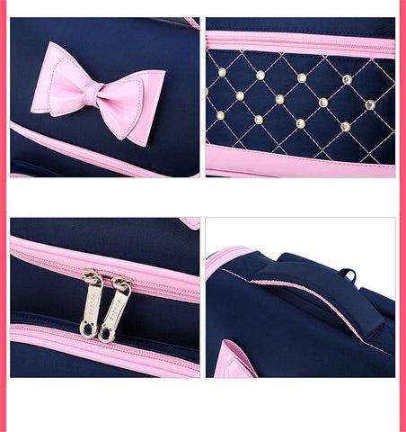 PRINCESS SCHOOL GIRL BACKPACK