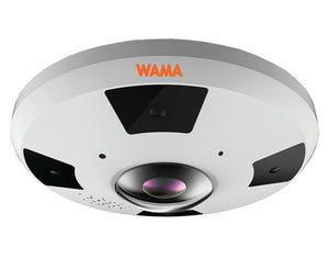 WAMA NS12-F22W | 12MP Fisheye IP Kamera - harma Andreas Hartmann