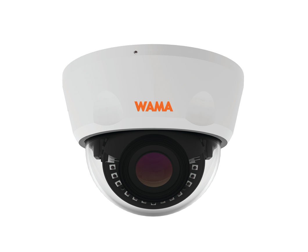 WAMA NV2-V26W | 2MP Starlight Dome IP Kamera, vandalensicher - harma Andreas Hartmann