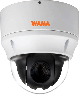 WAMA PZ2-T210 | 2MP High Speed Dome IP Kamera 12x Zoom - harma Andreas Hartmann